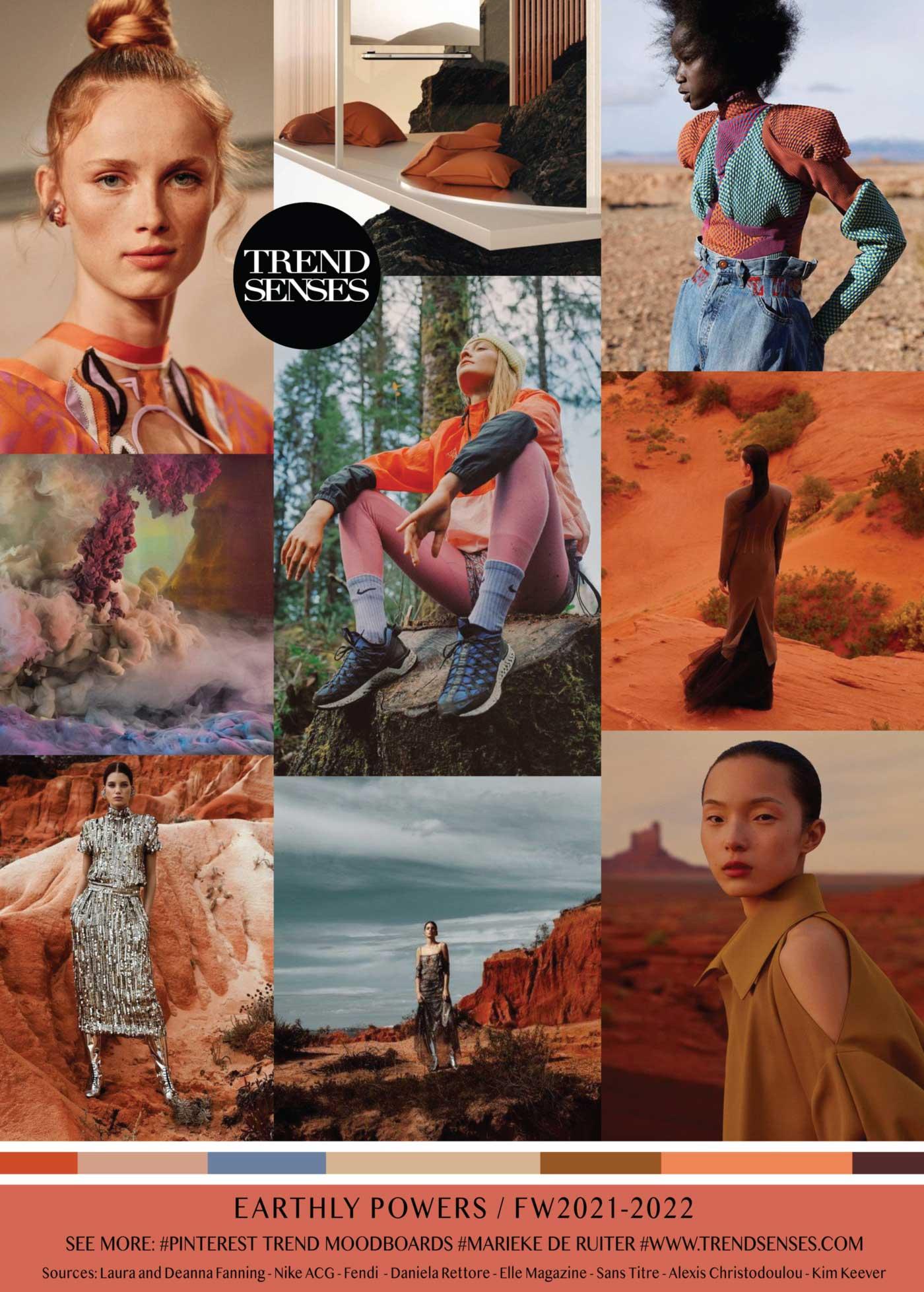 Trendmoodboards – Trendsenses | Color trends fashion ...
